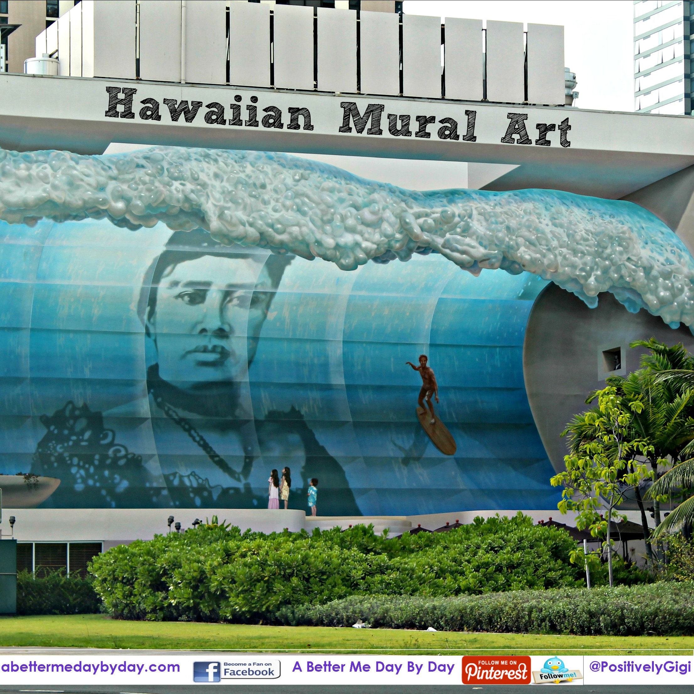 Hawaiian art a better me day by day for Mural haiwan