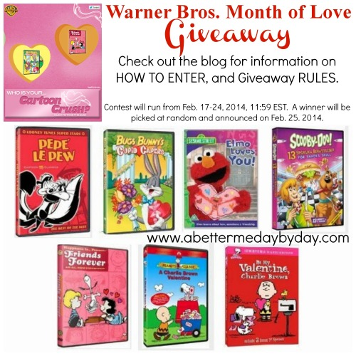 WB Month of Love Giveaway